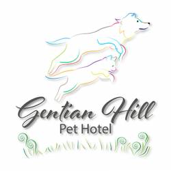 Gentian Hill Pet Hotel Boarding Cattery Logo